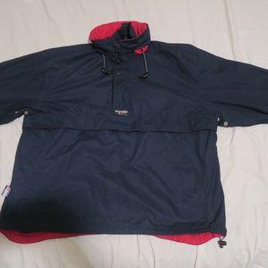 VTG 90s Chaps Ralph Lauren Rubber Patch Jacket XL